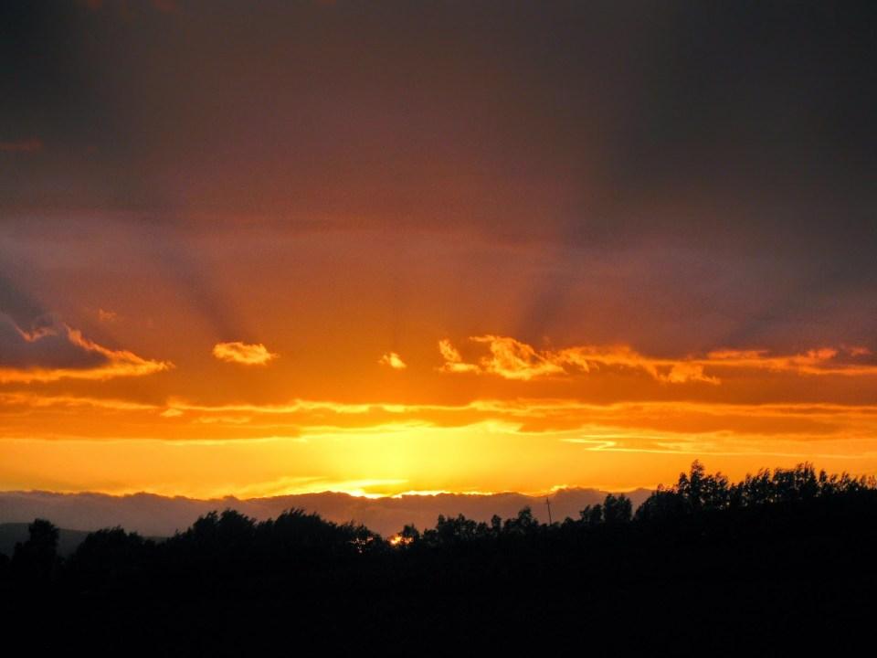 Robertson: Sunset from Fraai Uitzicht