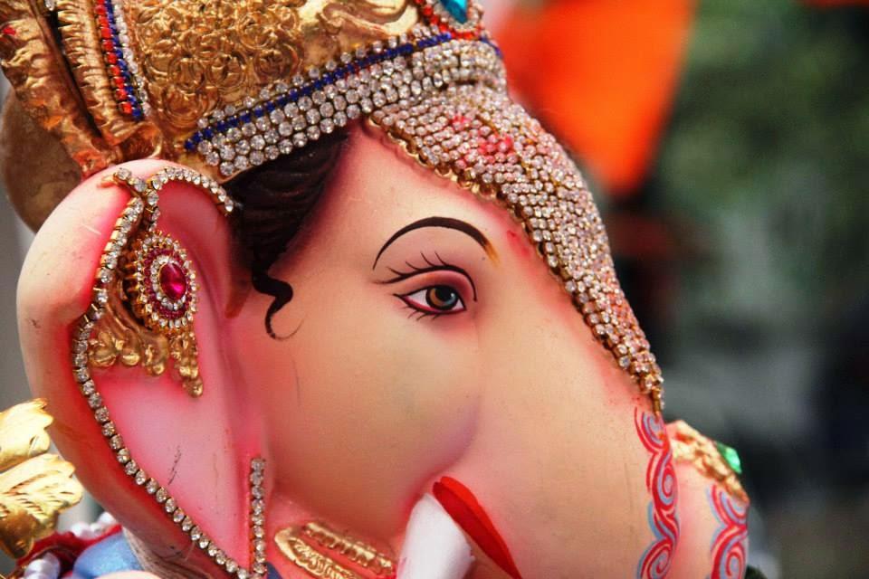 Ganesh Festival in Mumbai, India