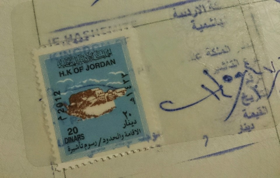 Jordan: Visa on arrival for Indian passport holders