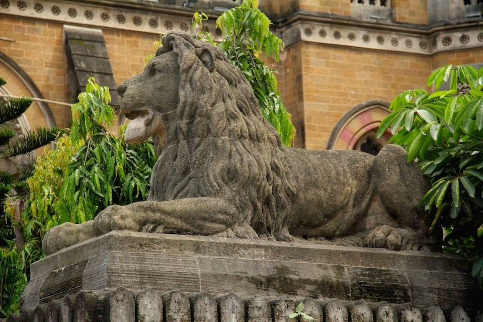Guarding the Victoria Terminus