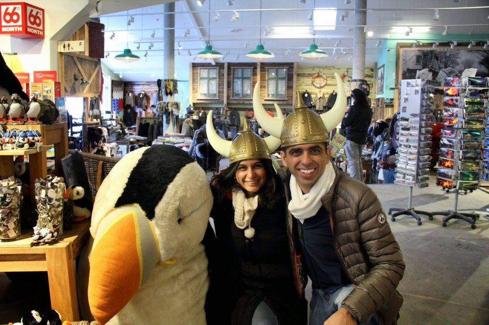 Exploring Iceland with the Viking hats