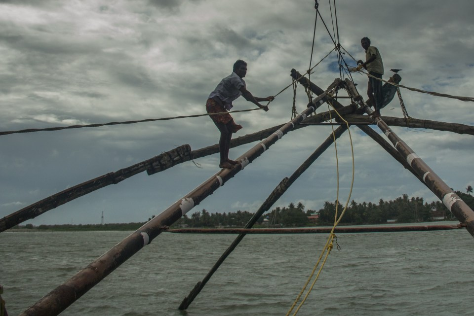 Fishing Fort Kochi