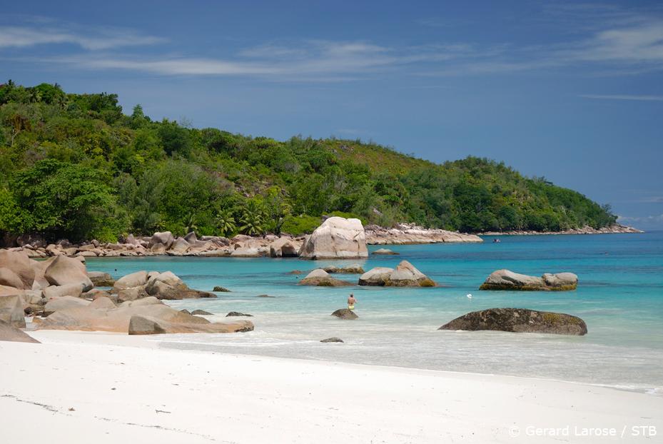 Anse Lazio on the island of Praslin (pic courtesy: Seychelles Tourism Board)