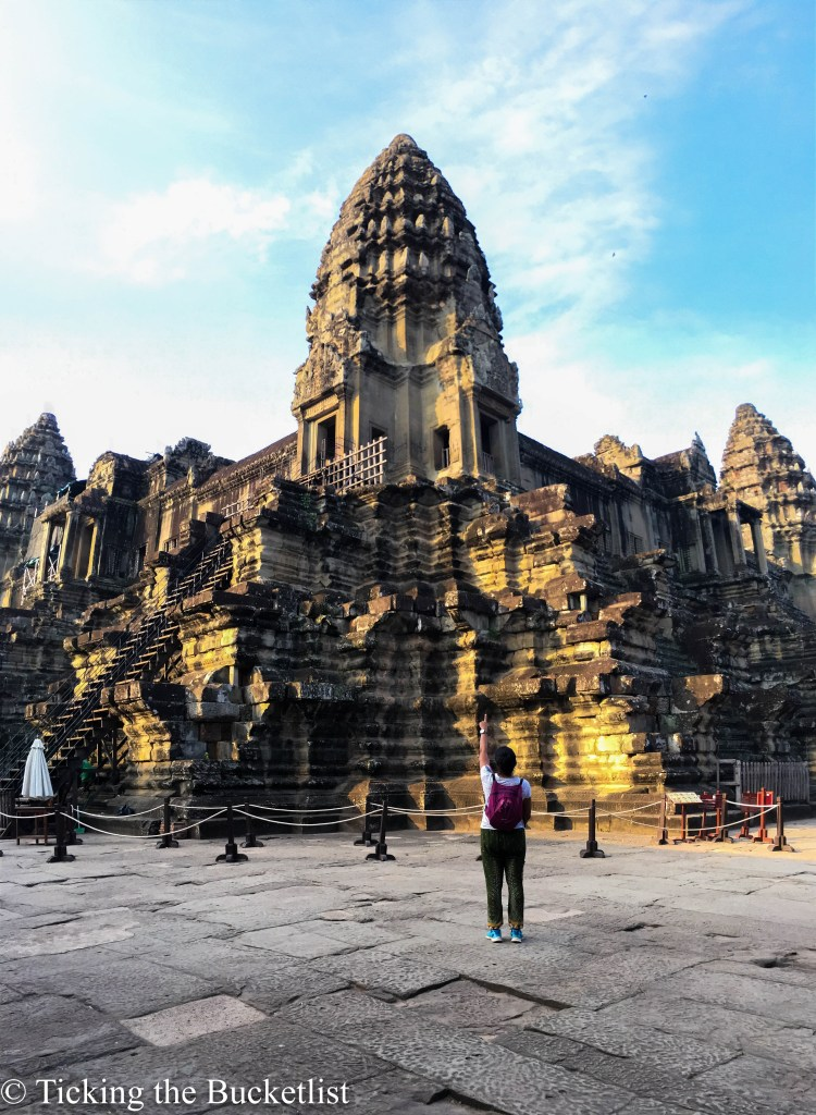 Angkor Wat to myself