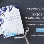 10 Free Wedding Invitations from Wedding Paper Divas