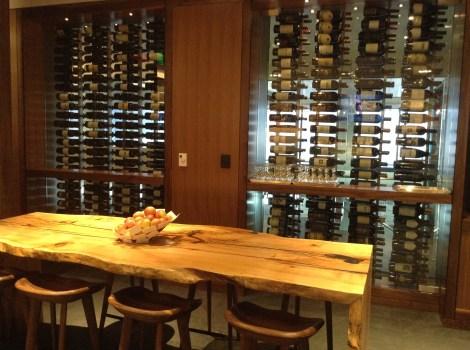 Glass Wine Display and Wine Sampler
