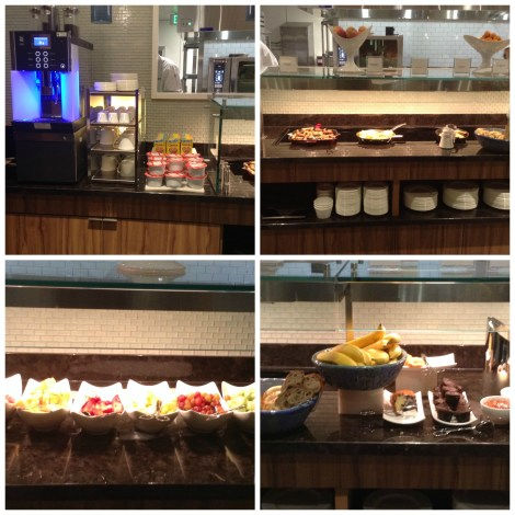 Buffet Breakfast at The Centurion Lounge