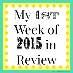 My Week in Review