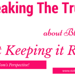 Truth Be Told! Blogging Can Be Frustrating!