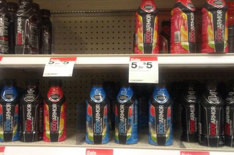 Body Armor on the shelf