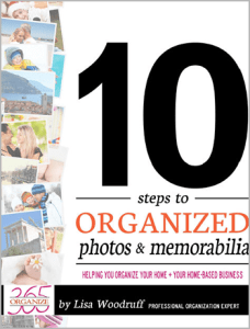 10 Steps to Organized Photos and Memorabilia