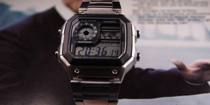 Casio AE1200 Face