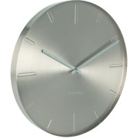 Belt Silver Wall Clock 40cm