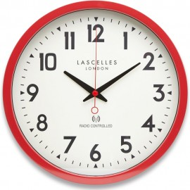 kitchen wall clocks commercial fan extractor classic browse our full range red radio controlled clock 38cm