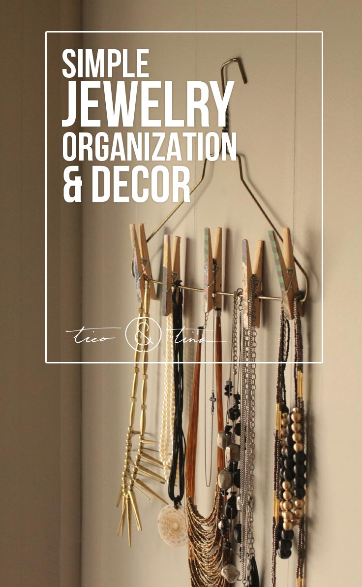 DIY Jewelry Holder with Stuff You Already Have  Tico  Tina