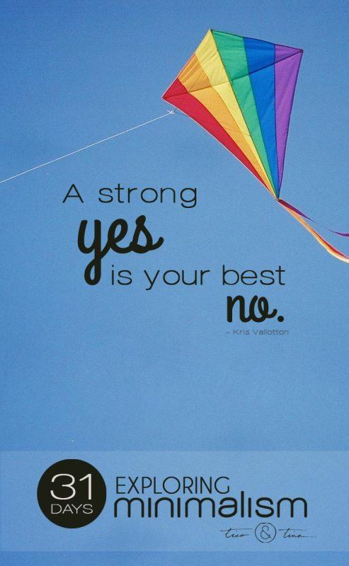 A strong yes is your best no. | quote | character | success | personal development