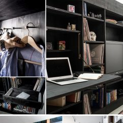 Living Room Desk Curtain For 9+ Awesome Space-saving Furniture Designs - Tico ♥ Tina