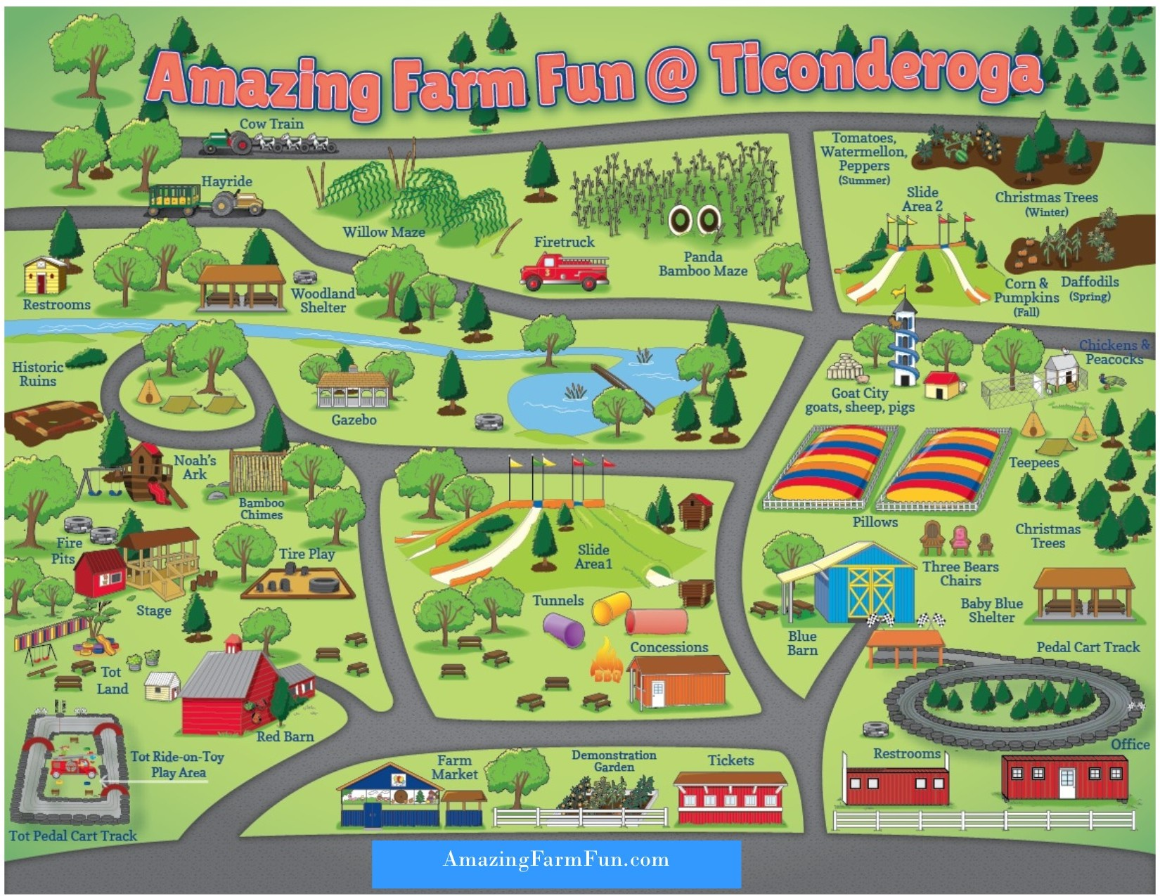 Fall Family Fun At Ticonderoga Farms