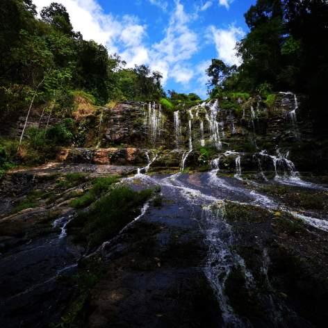 Catarata el Rey con Ticos A Pata hiking Trekking Senderismo