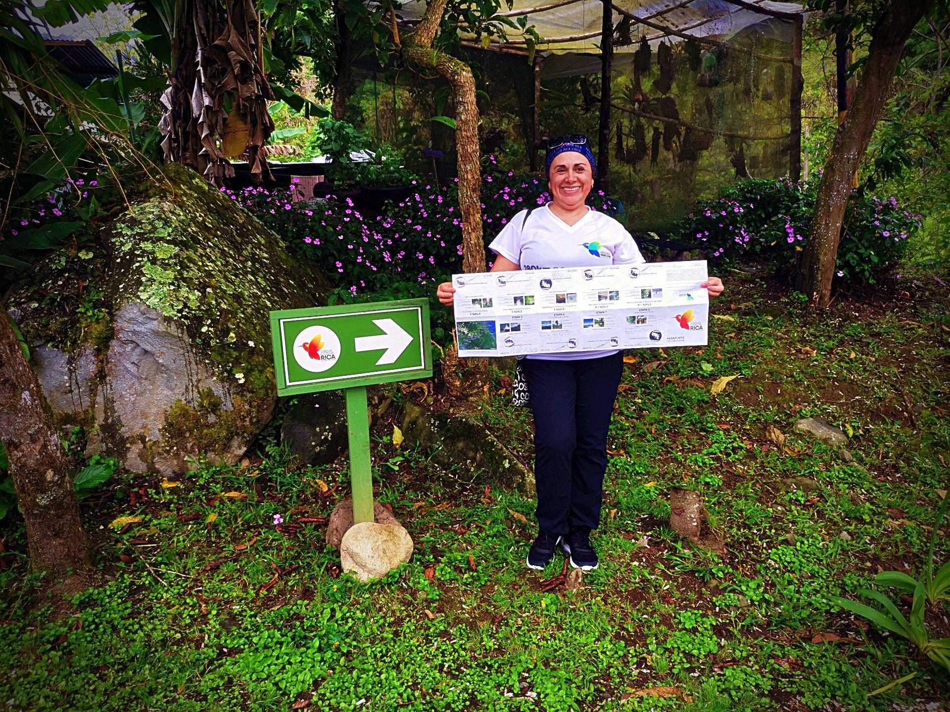 El camino de Costa Rica