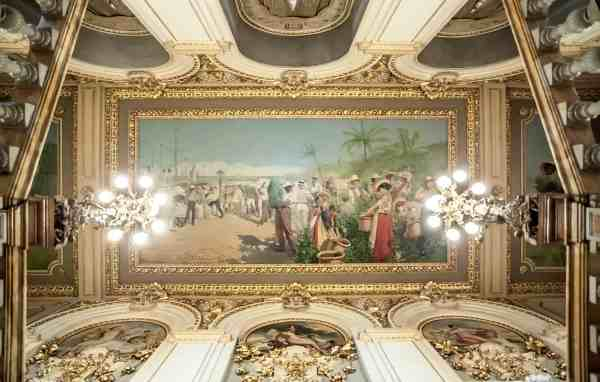Costa Rica National Theater Mural Named Of 10 Great