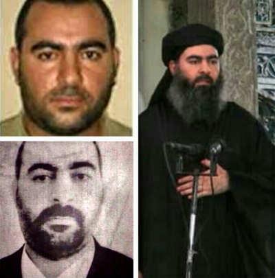 Transformación del judío Simon Elliott en Abu Bakr Al Baghdadi.