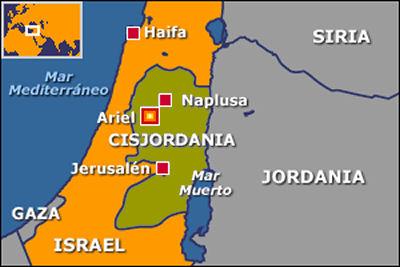 Resultado de imagen para cisjordania