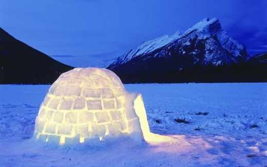 ou passer noel sous la neige igloo