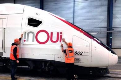 SNCF inOui : le changement des trains SCNF c'est pour bientôt ? nouveau nom TGV voyage-sncf devient OUI.sncf TGV devient inOui