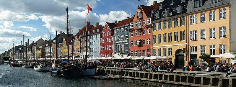 ou partir en décembre copenhague port Nyhavn