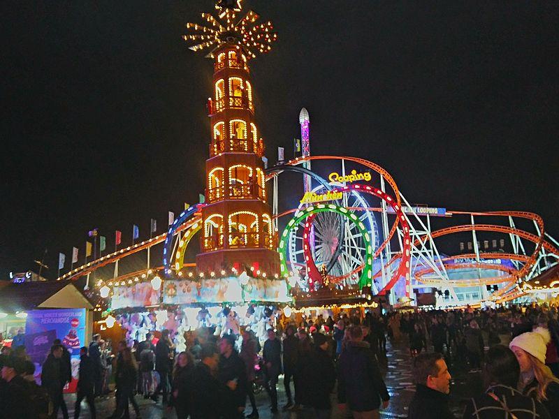 ou partir en décembre londres winter wonderland illuminations marché noel