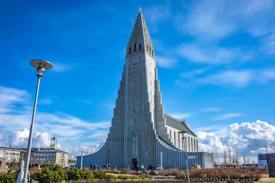 week end islande - Hallgrímskirkja