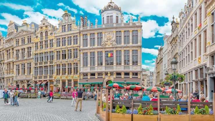 week end à Bruxelles - cover place de Bruxelles