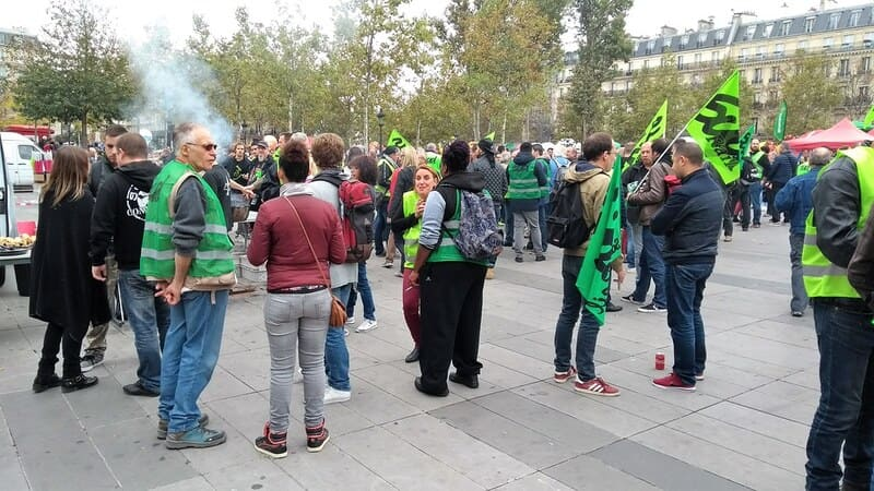 Manifestation - greve SNCF janvier