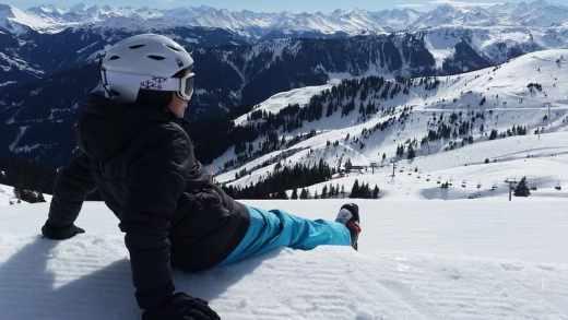partir au ski pas cher - pause de ski panorama ski