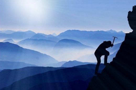 sommet des alpes - ascension alpinisme montagne soleil nuages