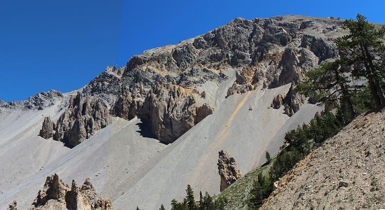 panorama montagne roche queyras