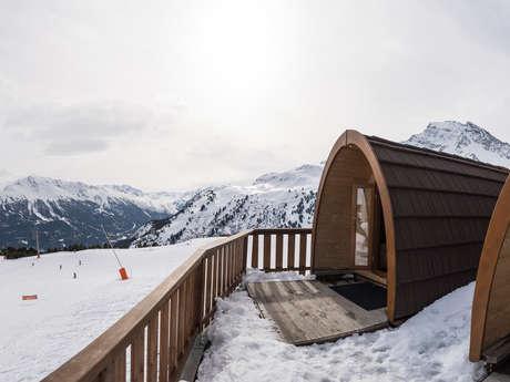 Montan'Igloo pod et chalet Montana - logement insolite de montagne
