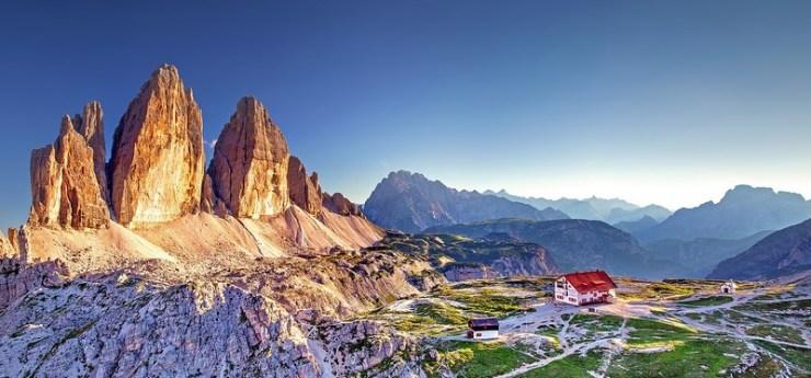 plus beaux paysages de montagne - les dolomite tyrol du sud