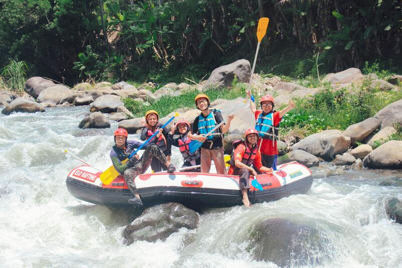 rafting en famille montagne