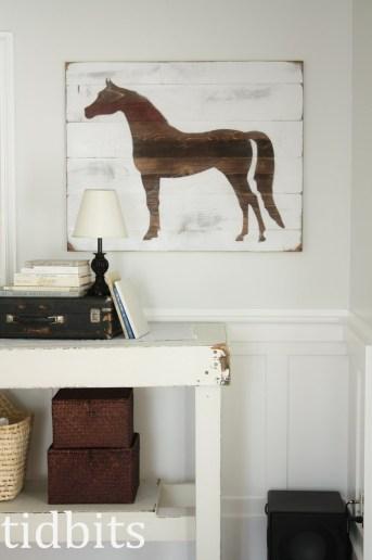 Horse Silhouette Art – Tutorial