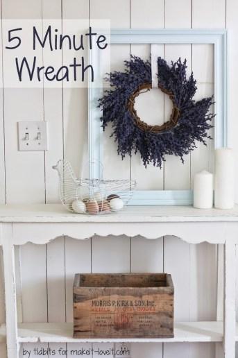 5 Minute Wreath