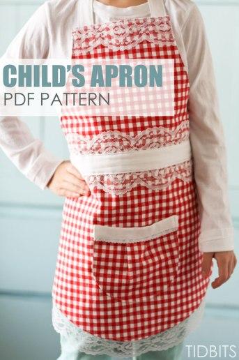 Farmhouse Apron {PDF Pattern Download}