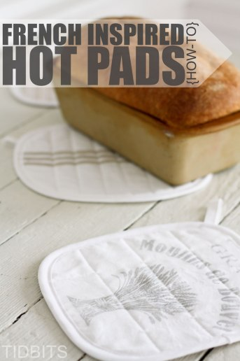 French Inspired Hot Pads