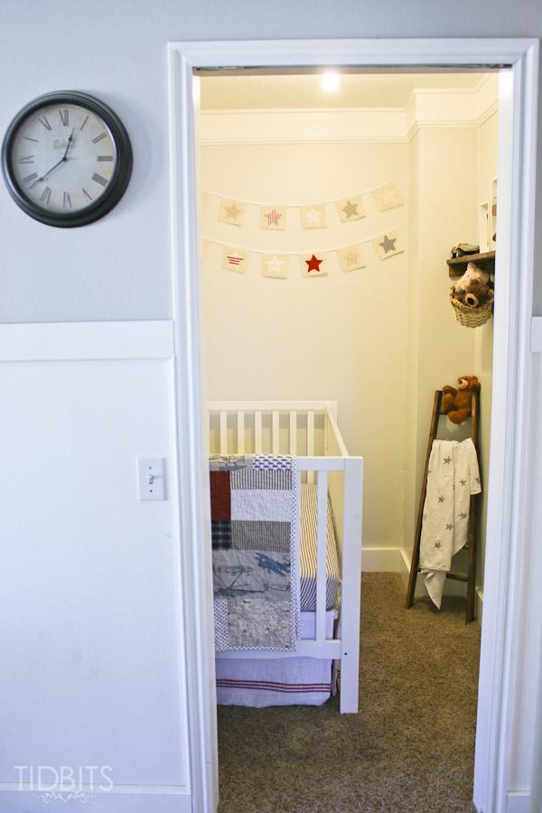 Delightful Closet Space Into Nursery 23