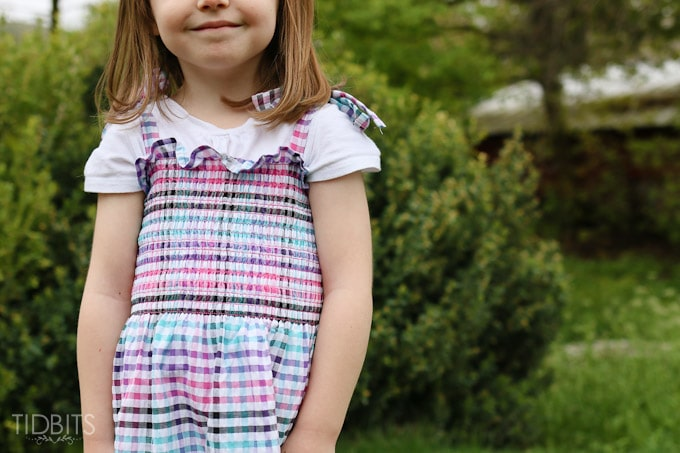 Dress From Pre-Smocked Fabric