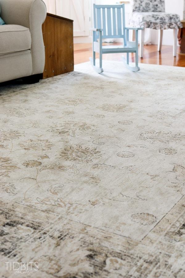 area rug on carpet bedroom