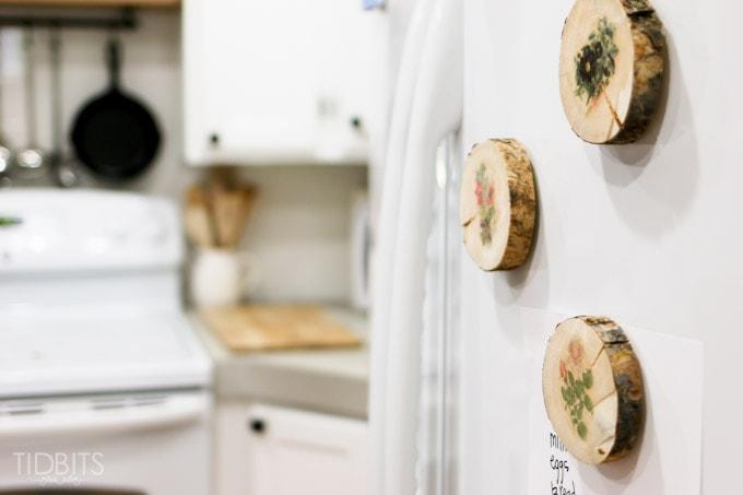 botanical fridge magenets