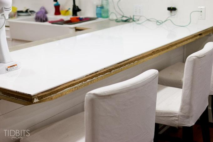 DIY Corian Countertops