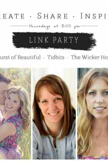 Create · Share · Inspire Link Party #3